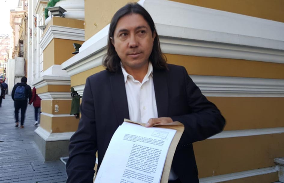 Marcel Rivas reitera su impugnación al binomio del MAS | Radio Fides