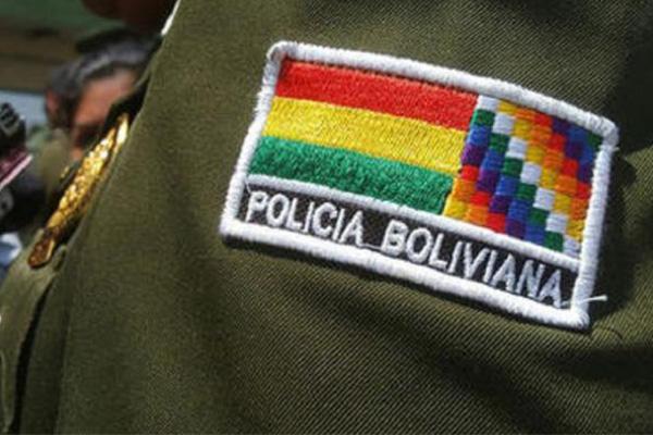 Policía Boliviana Foto: PERIÓDICO BOLIVIA