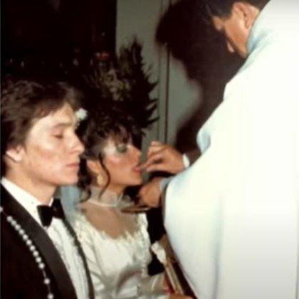Gabriela Ortiz y Arturo Peniche contrajeron nupcias hace 39 años