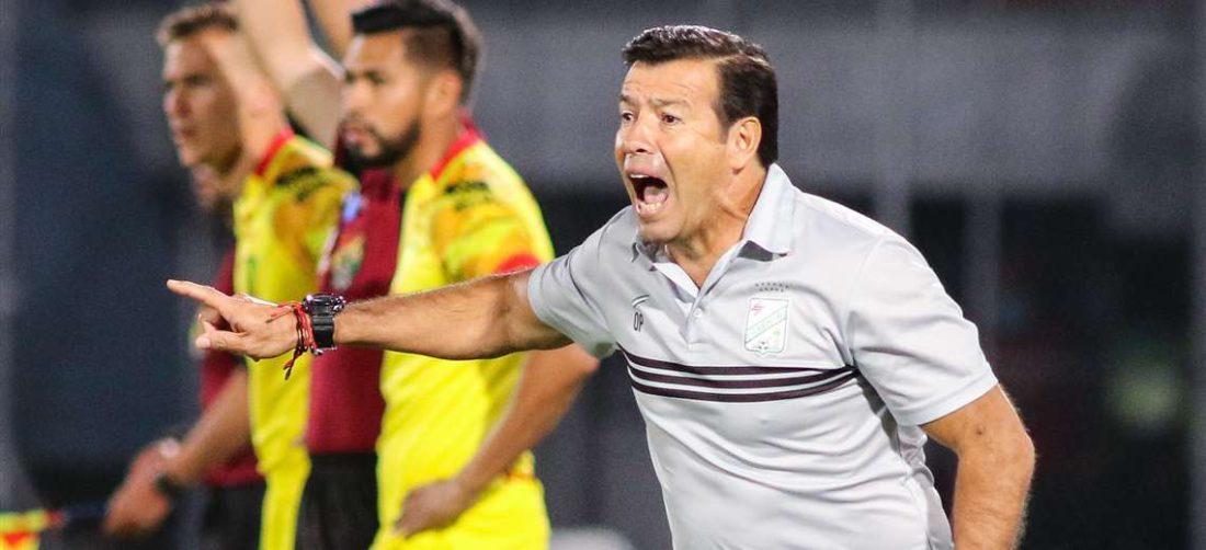 Erwin Sánchez durante el último partido de Oriente ante Palmaflor. Foto: Prensa Oriente P.