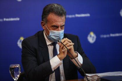 El ministro de Salud Pública de Uruguay, Daniel Salinas. EFE/ Federico Anfitti/Archivo