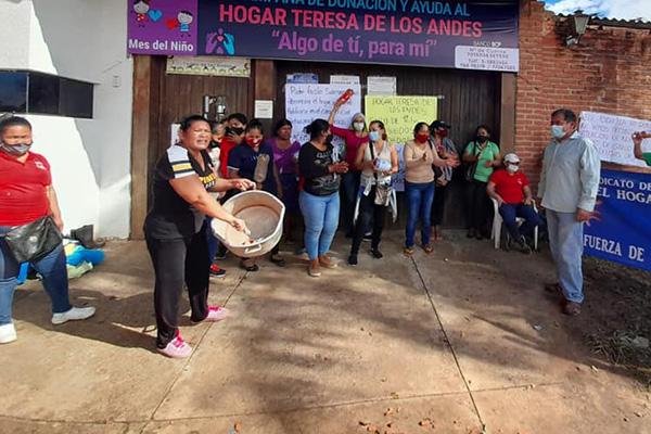 Trabajadores del hogar Teresa de Los Andes Foto: COTOCA VOCES DE MI PUEBLO