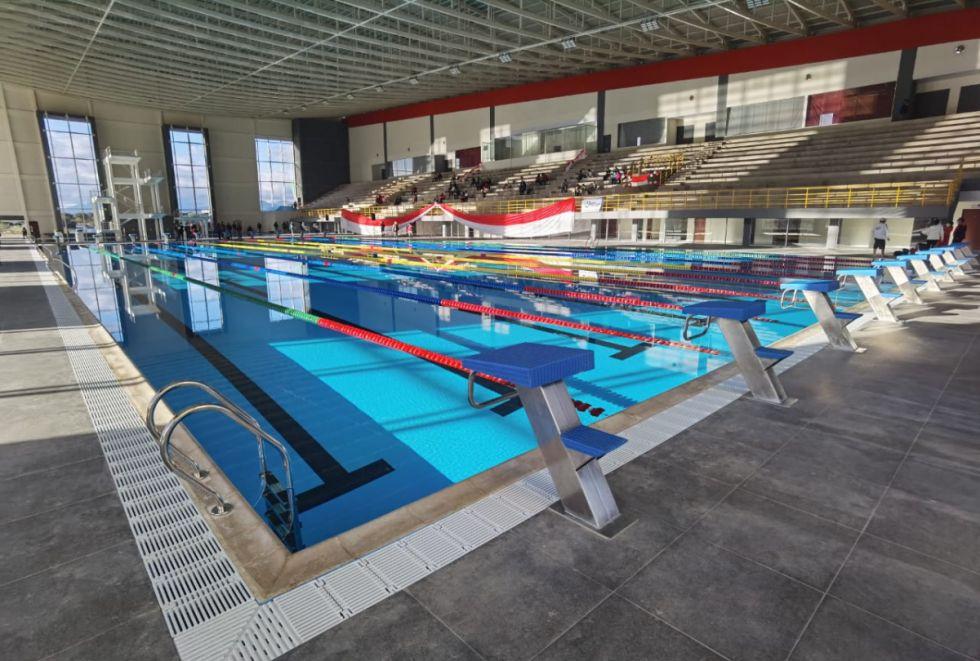 Oliva inaugura la Piscina Olímpica, el segundo proyecto deportivo de impacto