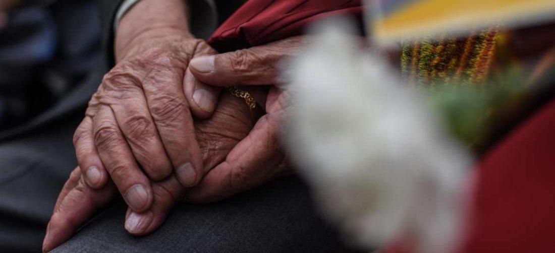 Adultos mayores en La Paz