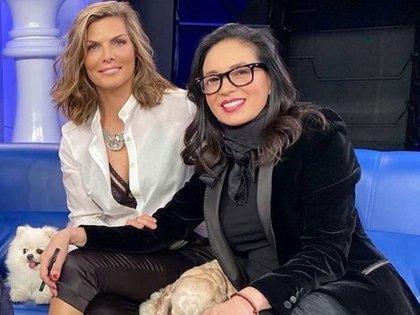 Montserrat Oliver y Yolanda Andrade sostuvieron una relación hace varios años, hoy son grandes amigas (Foto: Instagram)