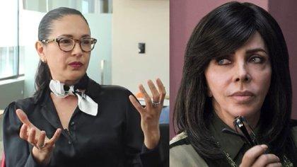 Yolanda Andrade reveló en 2019 que años atrás sostuvo un romance con Verónica Castro, quien lo negó (Foto: Archivo)