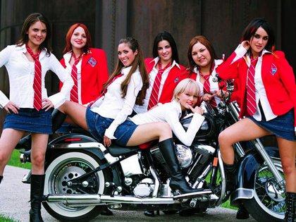 Rebelde llegó a ser un éxito internacional y el fenómeno RBD vendió millones de copias (Foto: Televisa)