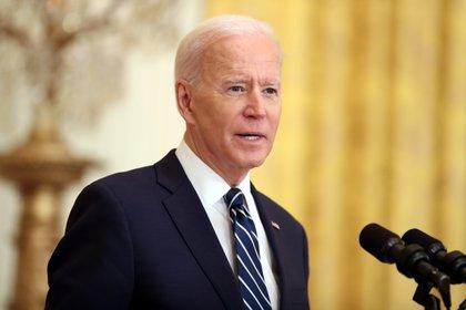 En la imagen, Joe Biden, presidente de Estados Unidos. EFE/EPA/OLIVER CONTRERAS/POOL/Archivo