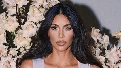 Kim Kardashian compartió una foto de su cuerpo en Instagram y su hermana Khloé le respondió en comentarios (Foto: Instagram / @kimkardashian)