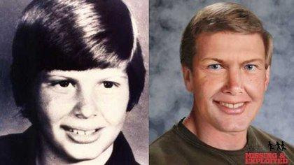 La imagen que hizo la policía para poryectar cómo se vería Johnny ya adulto. Su madre contó que una madrugada de marzo de 1997, tocaron la puerta y cuando abrió ahí estaba su hijo, ya con unos 27 años, acompañado por un hombre que nunca había visto antes. Dijo que su Johnny le dijo que había sido secuestrado por una red de pedófilos
