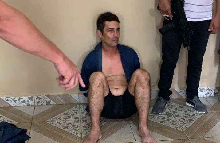 El delincuente fue detenido este lunes
