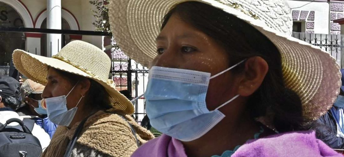 La pandemia en Bolivia. Foto: AFP