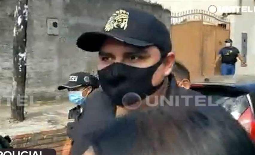 Castro fue aprehendido por la Policía