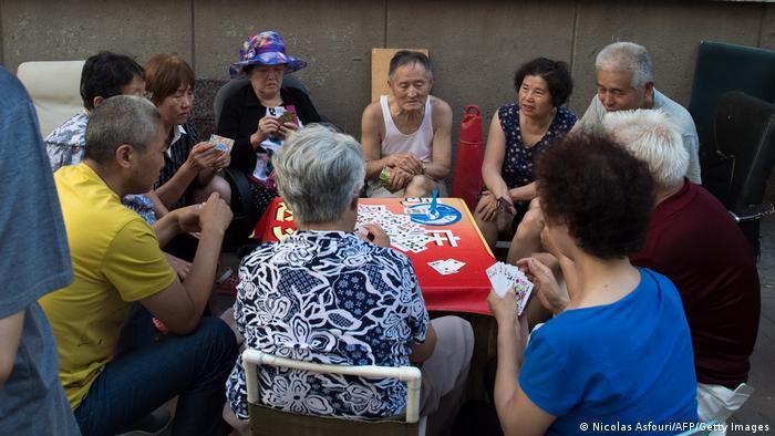 China tiene cada vez más jubilados en comparación con los trabajadores activos.