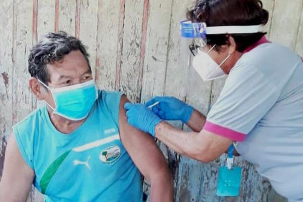 Vacunación masiva contra el Covid-19 en Pando Foto: SEDES PANDO