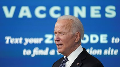 U.S. President Joe Biden speaks about the COVID-19 response and vaccination program at the White House in Washington, U.S., May 12, 2021. REUTERS/Kevin Lamarque