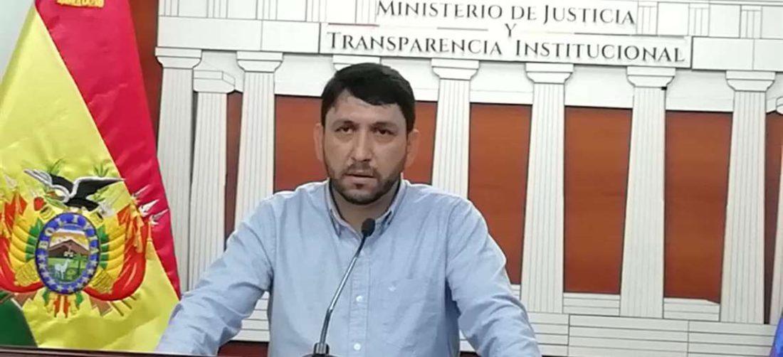 Guido Coimbra, exviceministro de Justicia y Transparencia