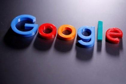 Imagen de archivo ilustrativa de un logo de Google creado en una impresora 3D tomada el 12 de abril, 2020. REUTERS/Dado Ruvic