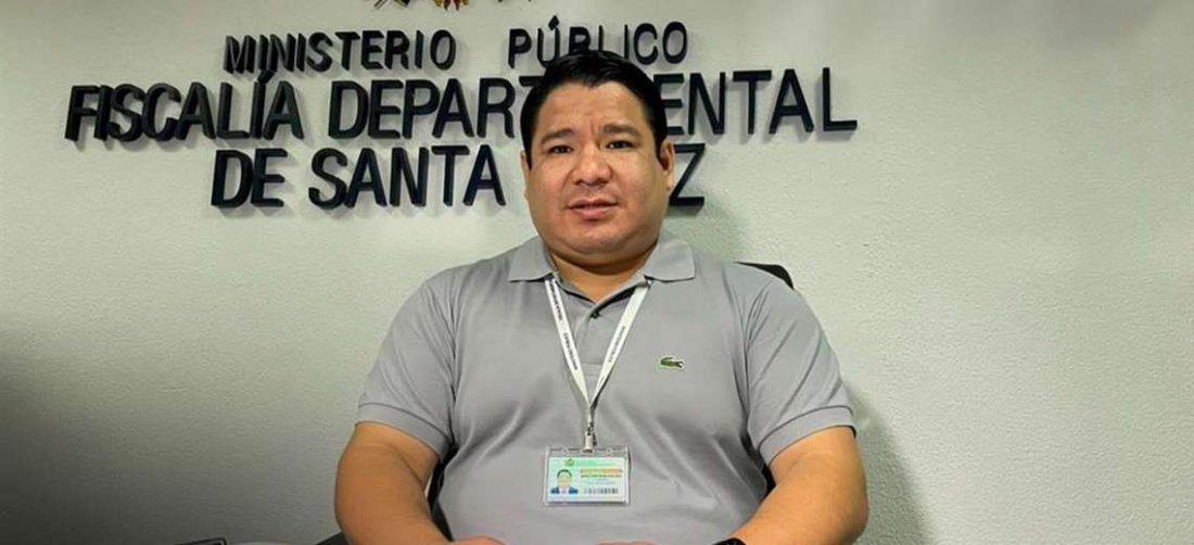El fiscal de Santa Cruz, Roger Mariaca, anunció operativos en las próximas horas