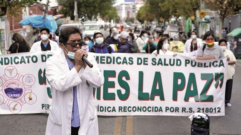 Sirmes La Paz pide al Colegio Médico reconsiderar el paro de 48 horas