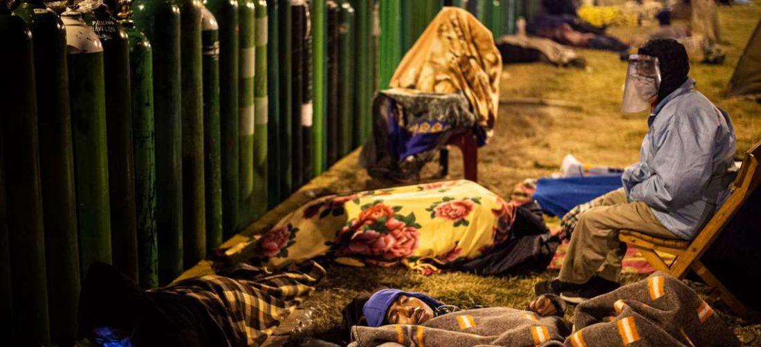 En Lima hay escasez de oxígeno medicinal/Foto: AFP