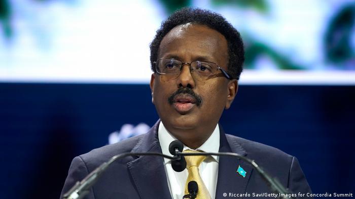 Farmaajo, presidente de Somalia.