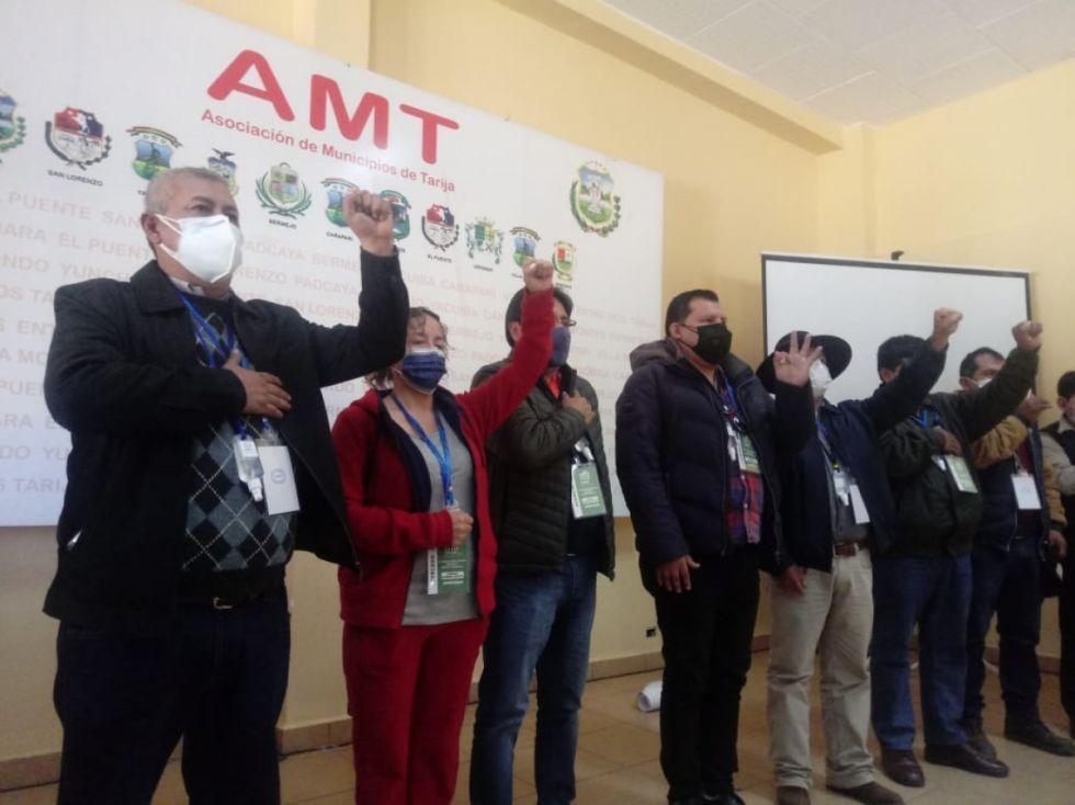 El MAS busca rearmarse desde la Asociación de Municipios de Tarija
