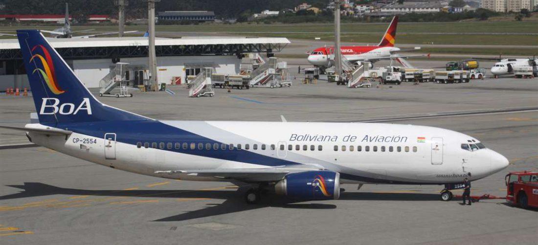 Actualmente las aerolíneas operan con categoría 1