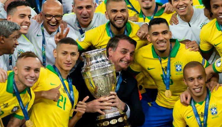 Bolsonaro Copa América - NODAL