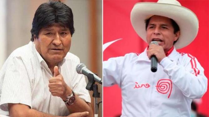 """Pedro Castillo tras saludo de Evo Morales: """"Gracias, hermano mío"""""""