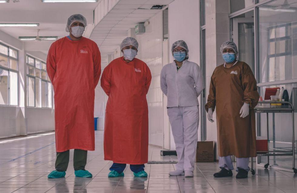 Sin contratos, personal abandonó la sala Covid del Hospital de Bermejo