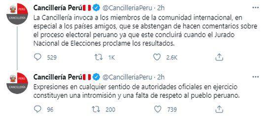 Publicaciones de la Cancillería.