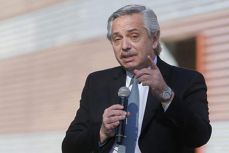 Alberto Fernández en la inauguración del Centro Argentino de Protonterapia