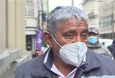 El alcalde de La Paz, Iván Arias, propone apostar por las vacunas que donará EEUU. /Unitel