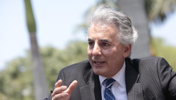 El periodista y escritor Álvaro Vargas Llosa se refirió a los candidatos Keiko Fujimori y Pedro Castillo en el final de la segunda vuelta electoral. (Foto: Nancy Dueñas/GEC)