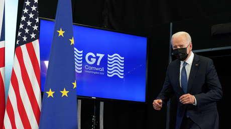 """Casa Blanca: El G7 cree necesario """"competir"""" con China y """"contrarrestarla"""" por ser """"un desafío a las democracias"""""""