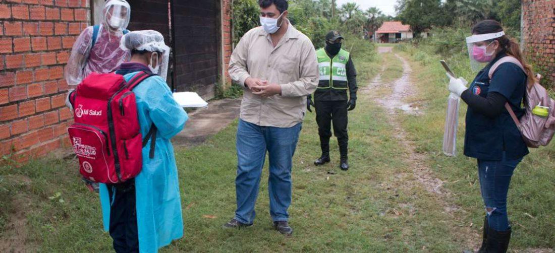 Brigadas médicas recorren barrios y comunidades para contener el Covid-19. Foto: Internet