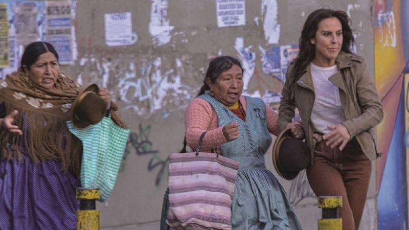 Susana Condori dejó las labores del hogar para actuar con Kate del Castillo