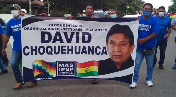 """Bloque Choquehuanca pide a Evo Morales """"no más intromisión en el gobierno"""""""