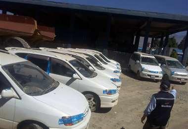 Vehículos indocumentados ingresados al país - Foto: Aduana Nacional