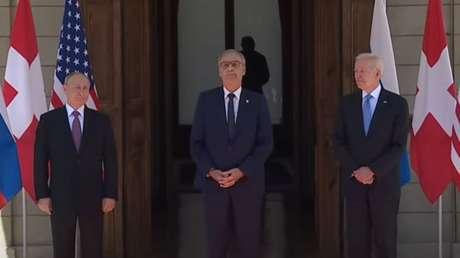 Arranca en Ginebra la primera cumbre cara a cara entre Putin y Biden