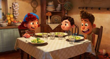 Luca Pixar Escena