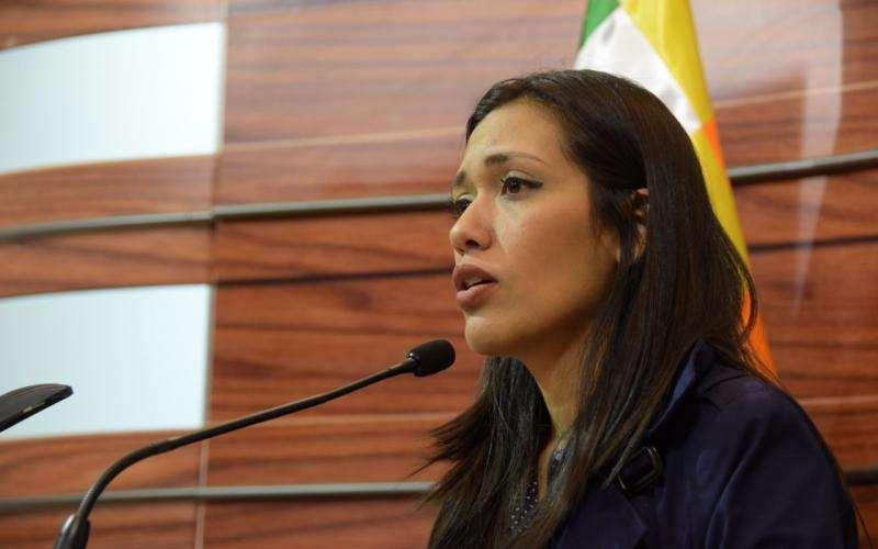 Adriana Salvatierra del MAS