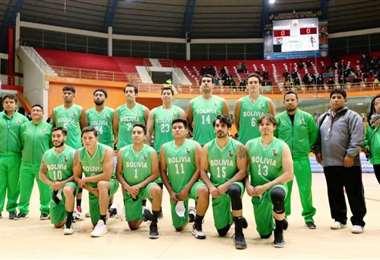 Selección boliviana de básquet