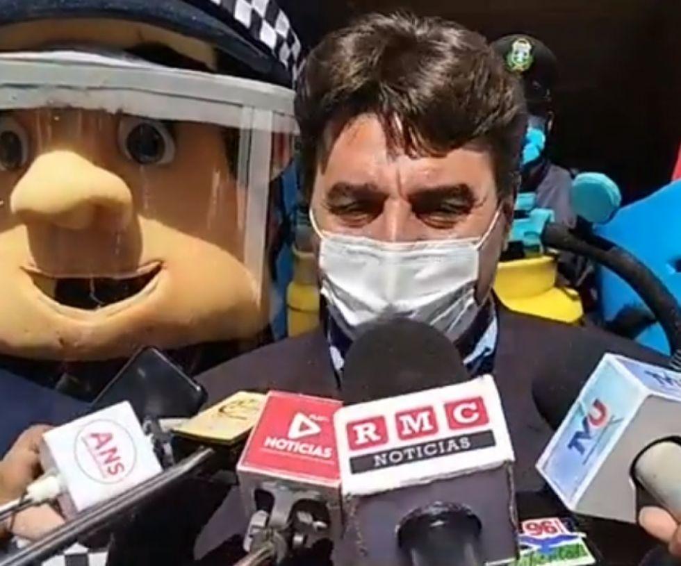 Torres: Se mantienen las restricciones por Covid en Tarija