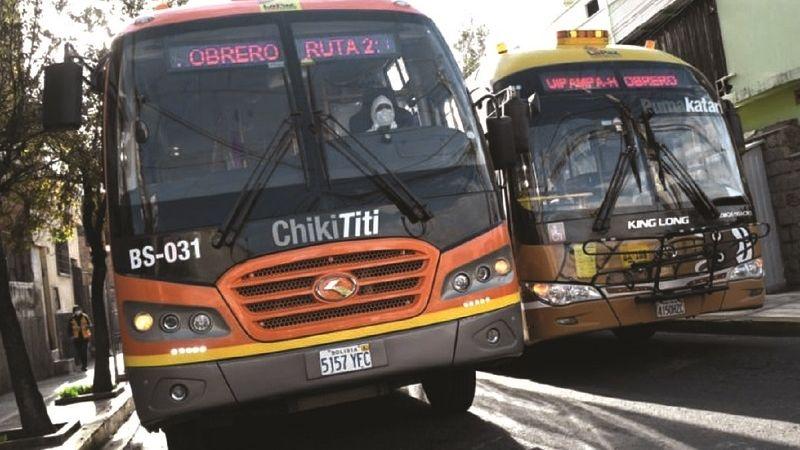 Pumakatari y ChikiTiti cambian horario de circulación por restricciones