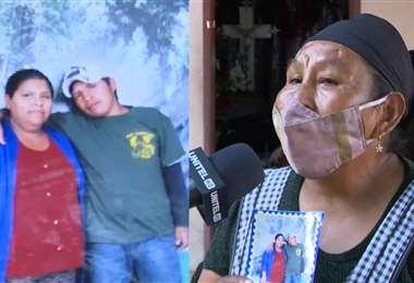 Rosa Bustos todavía no pudo enterrar a su hijo