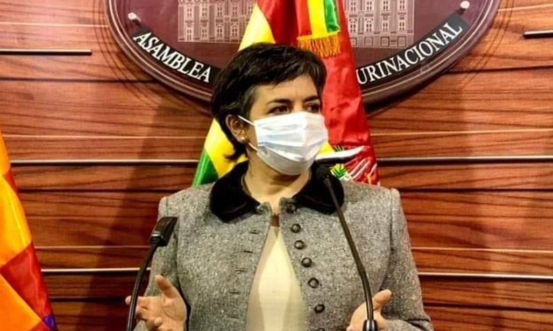Cecilia Requena, senadora de Comunidad Ciudadana