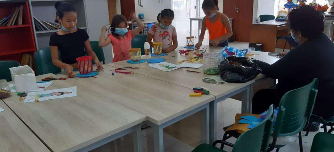 Vacaciones útiles permite que los niños tengan talleres de diversos tipos