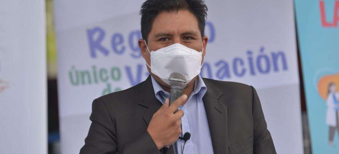 Jeyson Auza, Ministro de Salud. Foto: Archivo